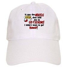Voices in my Head Fishing Baseball Baseball Cap