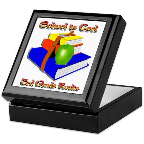 School's Cool 3rd Grade Rocks Keepsake Box