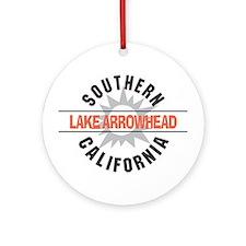 Lake Arrowhead California Ornament (Round)
