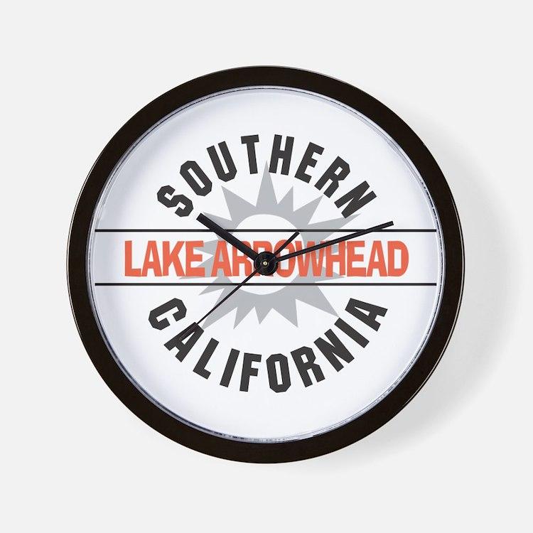 Lake Arrowhead California Wall Clock