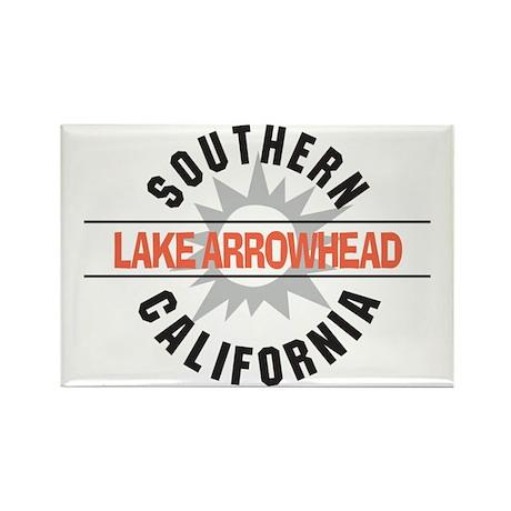 Lake Arrowhead California Rectangle Magnet (10 pac