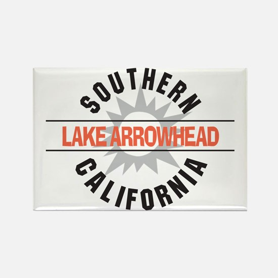 Lake Arrowhead California Rectangle Magnet