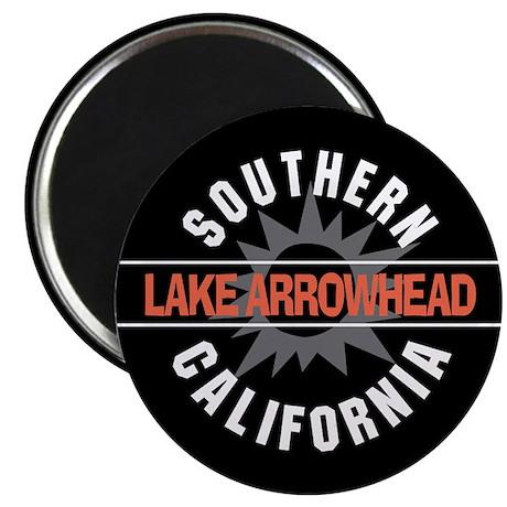 "Lake Arrowhead California 2.25"" Magnet (100 pack)"