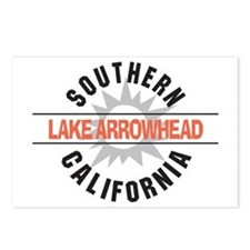 Lake Arrowhead California Postcards (Package of 8)