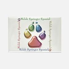 Welsh Springer Name2 Rectangle Magnet