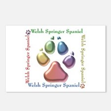 Welsh Springer Name2 Postcards (Package of 8)