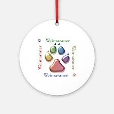Weim Name2 Ornament (Round)