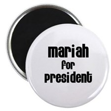 Mariah for President Magnet