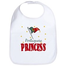 Portuguese Princess Baby Infant Toddler Bib