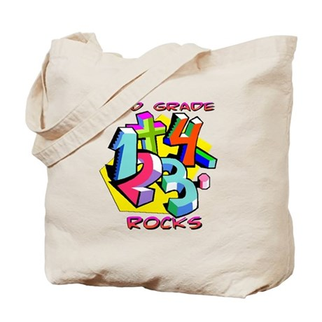 Numbers 3rd Grade Tote Bag