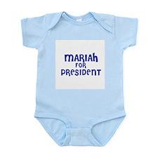 Mariah for President Infant Creeper