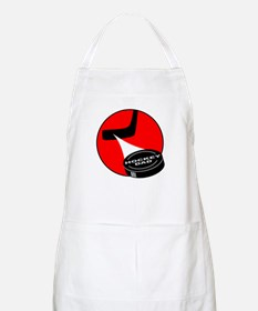 HOCKEY DAD T-SHIRTS AND GIFTS BBQ Apron