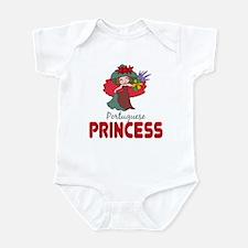 Portuguese Princess Baby Toddler Infant Bodysuit