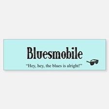 Bluesmobile Bumper Bumper Bumper Sticker