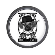 Mr. Puggle Wall Clock