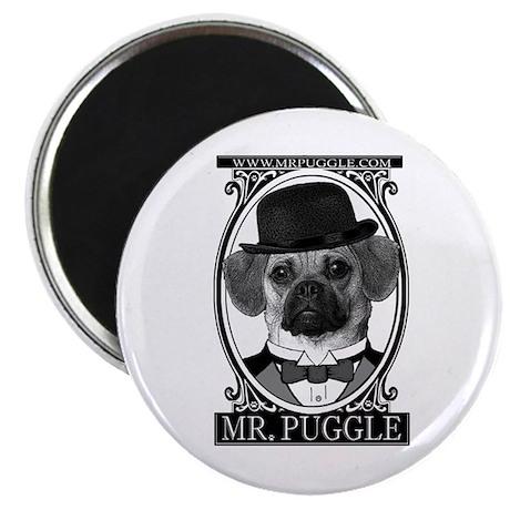 Mr. Puggle Magnet