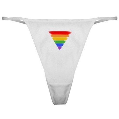 Rainbow Triangle Classic Thong