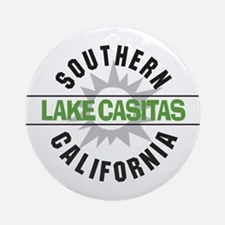 Lake Casitas California Ornament (Round)