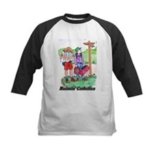 Friends of Mary Kids Catholic Baseball Jersey