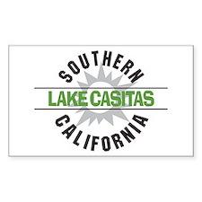 Lake Casitas California Rectangle Decal