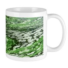 Marbled Green Water Mug