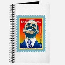 President Obama Stamp - Journal