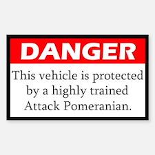 Attack Pomeranian Decal