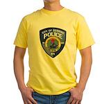 Henning Police Yellow T-Shirt