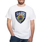 Henning Police White T-Shirt