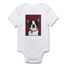 Boston on Red Infant Bodysuit