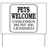 Plan For Day Yard Sign