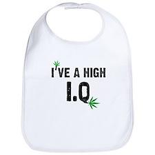 Funny Weed Bib