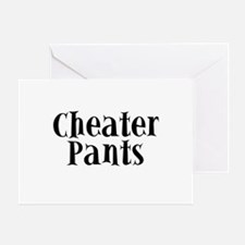 Cheater Pants Greeting Card