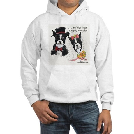 A Boston Wedding Hooded Sweatshirt