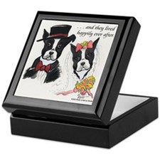 A Boston Wedding Keepsake Box