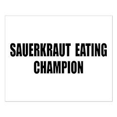 Sauerkraut Champion Posters