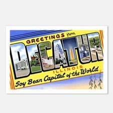 Decatur Illinois Greetings Postcards (Package of 8