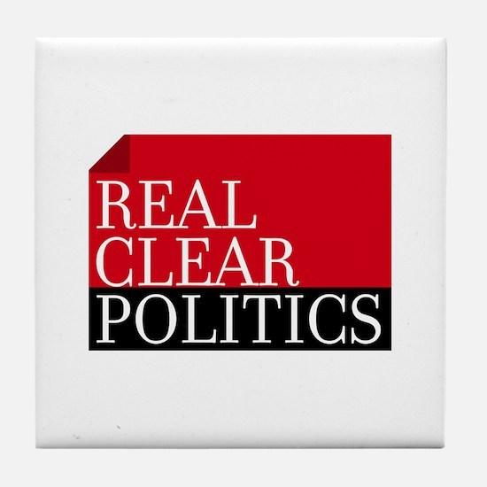 Real Clear Politics Tile Coaster