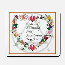 Healing HEART Mousepad