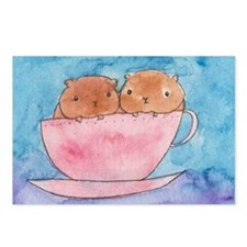 Teacup Cavys Postcards (Package of 8)