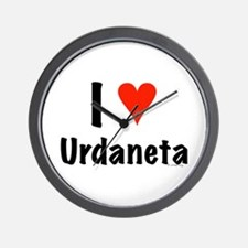 I love Urdaneta Wall Clock