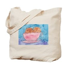Teacup Cavys Tote Bag