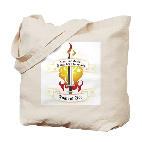 Joan of Arc - Born to Do This Tote Bag