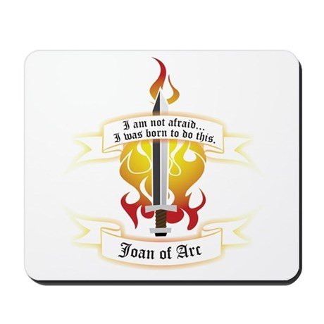 Joan of Arc - Born to Do This Mousepad