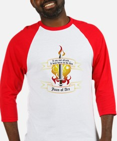 Joan of Arc - Born to Do This Baseball Jersey