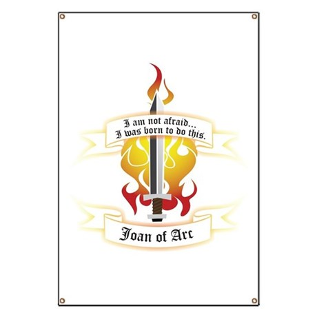 Joan of Arc - Born to Do This Banner