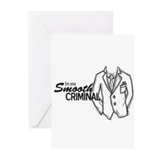 Smooth Criminal Greeting Cards (Pk of 20)