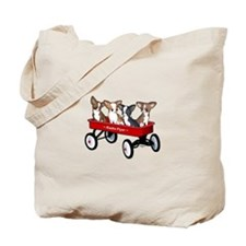 Radio Flyer Chihuahuas Tote Bag