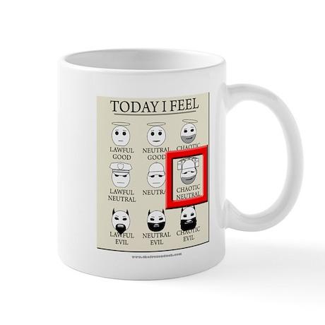 Today I Feel - Chaotic Neutral Mug