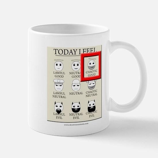 Today I Feel - Chaotic Good Mug